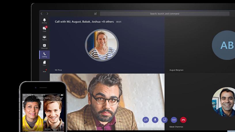 Mircosoft Teams to collaborate