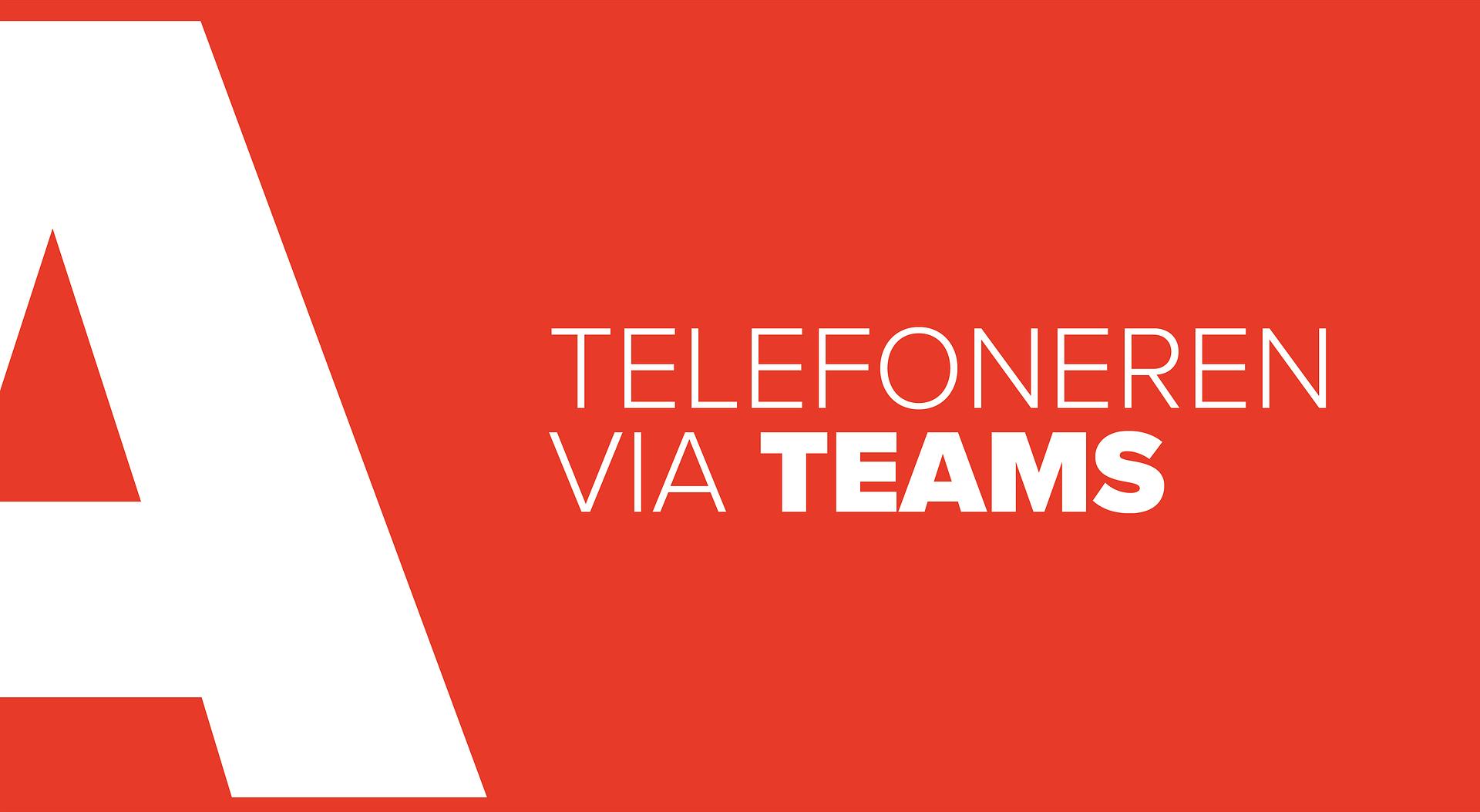 Calling via Teams