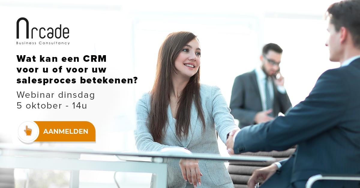 Wat kan een CRM voor u of voor uw salesproces betekenen?